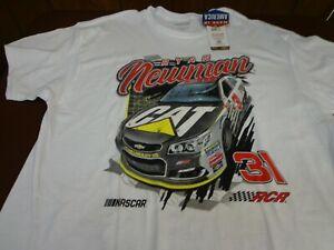 NASCAR Ryan Newman Richard Childress CAT   Racing   T-Shirt  XL NEW  B8