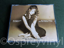 Mariah Carey Without You & Never Forget Cd 1 single with new case