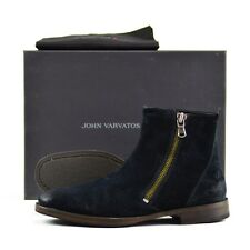 Men's JOHN VARVATOS Mitchel Suede Leather Side Zip Boots Shoes 10 D NWT $375
