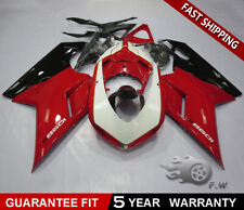 ABS Injection Molded Fairing Kit for Ducati 1098 1198 848 2007-2012 Pre-Drilled