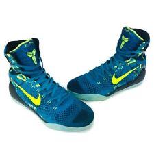 NIKE KOBE IX 9 Elite Premium High Perspective Basketball Shoe Size 12 Neon Volt