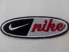 Parche bordado para coser estilo Nike  9/3 cm adorno ropa personalizada
