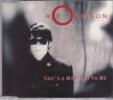 Roy Orbison-Shes A Mystery To Me cd maxi single