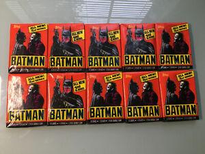 1989 Topps Batman Series II Trading Cards