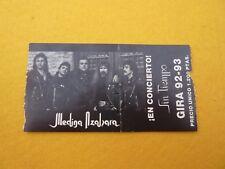 Medina azahara gira 92-93     Spain Concert ticket Entrada Ç