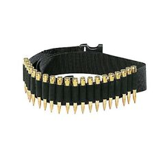 Tactical 25 Rounds Rifle Bullet Ammo Cartridge Belt Bandolier for 308 cal. 30-30