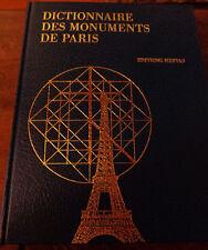 DICTIONNAIRE DES MONUMENTS DE PARIS / Jean COLSON & Marie-Christine LAUROA