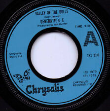 """Generation X   """"Valley Of The Dolls """"  7"""" single"""