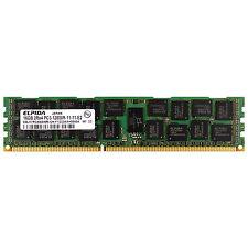 Elpida EBJ17RG4BBWM-GN-F 16GB DDR3 12800R 1600Mhz 1.5v 2rx4 Server Memory Ram