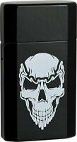 Ronson 43533 JetLite refillable Butane Torch Lighter Skull Design, Black