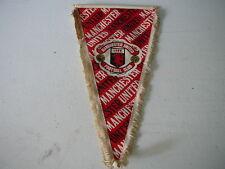 fanion football Manchester United   vintage