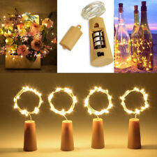 12x LED Cork with 20 LED Lights on a String Bottle Stopper Lamp Wedding Event UK
