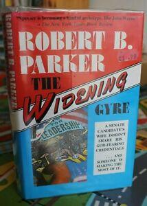 Robert B. Parker;  THE WIDENING GYRE;  A Spenser Novel;    U.K. 1st Edition
