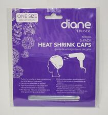 Diane #DEA006 Heat Shrink Caps 5-Pack- One Size