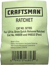 New Craftsman Ratchet Repair Kit 32765 For Ratchets 44809 Amp 44816 Flex