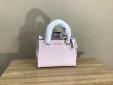 Michael Kors Kellen XS Saffiano Leather Satchel Handbag Blossom Pink Gold NWT