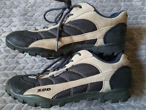Shimano SPD SH-M020D Mountain Bike 2-Bolt Riding Shoes Men's Size 7.5 Cycling