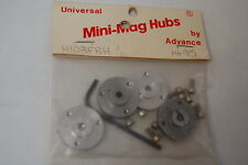 Advanced Engineering Mini Mags Vintage Set H108FRH Aluminum Hubs,