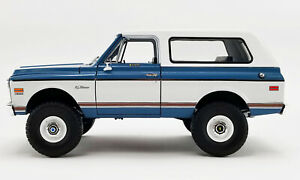 1:18 scale Chevrolet Blazer K/5-1972 Die-cast Model - A1807702