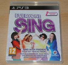 Everyone Sing - UK Sony PS3 Game Complete Brand New Unsealed Like Singstar It