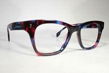 Pre-Owned Colorful LUNETTES POUR TOUS Classic Thick Rim Glasses Eyeglass Frames