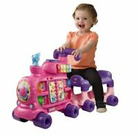 VTech Push and Ride Alphabet Train Pink for Kids Toddlers Learning Activity