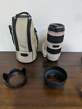 Canon EF 70-200mm f/2.8L IS II USM Lens with Tripod Mount, Case and Lens Hoods