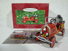 Hallmark Keepsake Ornament Toledo Fire Engine Kiddie Car Classics #7 Dated 2000