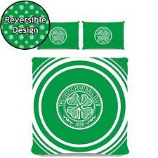 Celtic FC Pulse Double Duvet Cover Set Football Club Crest Boys - 2 in 1 Design