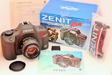 ZENIT KM Plus Brand NEW SLR Film Camera & MC Zenitar K2 lens 2/50 35mm