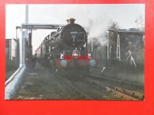 POSTCARD GWR LOCO NO 6000 KING GEORGE V AT BULMERS RAILWAY CENTRE HEREFORD