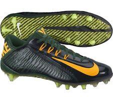 NEW Nike Vapor Carbon Elite 2014 TD Low Football Cleats-Green, Gold, Black $150+