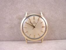 1965 Omega Automatic 17 Jewel 550 10K Gold Filled & Steel Men's Watch