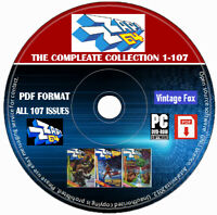 Zzap 64 C64 Amiga Commodore Magazine The Complete Collection PDF 107 Issues DVD