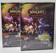 World Of Warcraft - Set of 2 - Dark Portal Starter Deck by Upper Deck