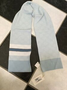 NWT 100% AUTH Gucci Kids Double Sided GG&Web Wool Scarf $245
