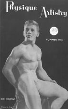 Physique Artistry No.4 Summer 1956 by Lon, Vintage British Edition Gay Magazine