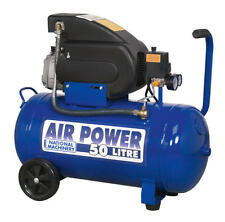 Direct Drive Compressor 2hp Air Power 50 Litres Model Number - ( NA5020E )