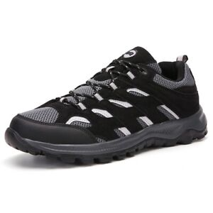Mens Trekking Trainers Shoes Outdoor Hiking Boots Sports Waterproof Walking Size