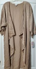 NWT  LULA ROE Shirley -M BEIGE Golden Color