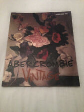 ABERCROMBIE & FITCH A&F SPRING 2003 CATALOGUE CATALOG FASHION MAGAZINE WEBER