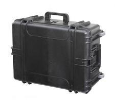 MAX620H250TR - Equipment Case wasserdicht, schwarz, 620x460x250mm inkl. ausziehb