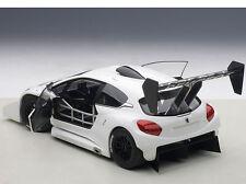 Autoart PEUGEOT 208 T16 PIKES PEAK RACE CAR 2013 PLAIN VER. WHITE 1/18 In Stock!