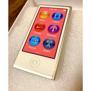 Exchange Program Produit Apple iPod Nano 7th Génération 16GB Argent F/S Neuf