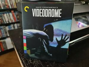 VIDEODROME (CRITERION COLLECTION 248 BLU RAY) LIKE NEW