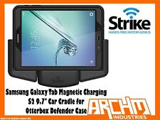 "STRIKE SAMSUNG GALAXY TAB S2 9.7"" MAGNETIC CHARGE CRADLE OTTERBOX DEFENDER LSP"