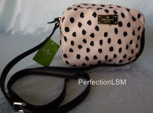 NWT Kate Spade Blake Avenue Mindy Flamingo Dot  Crossbody/Shoulder Bag Light Fun