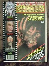 Fangoria magazine #42 February 1985 Silent Night Deadly Night Christopher Lee