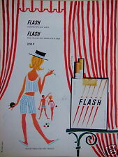 PUBLICITÉ 1965 FLASH CIGARETTE FAITE POUR PLAIRE - ADVERTISING