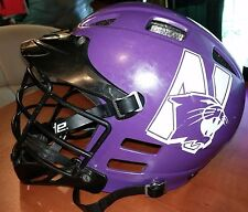 Northwestern Wildcats College Lacrosse CASCADE Purple Helmet Men's (XL/ L)